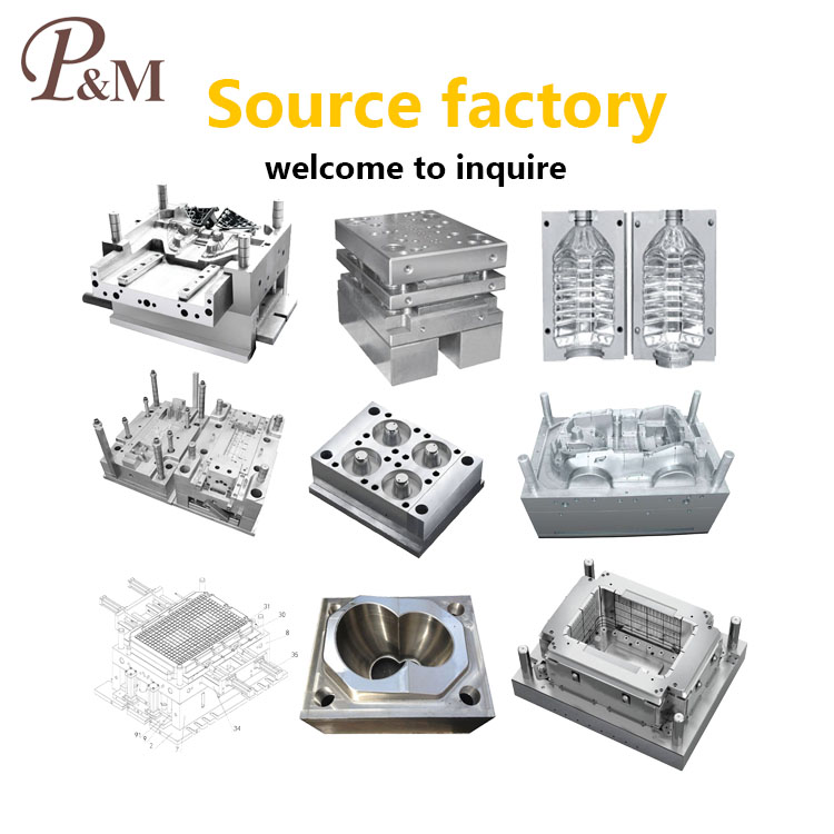 P&M cheap good quality plastic injection fork mould (2)